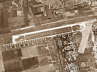 historical aerial photograph Beijing Capital International Airport (PEK),  1966