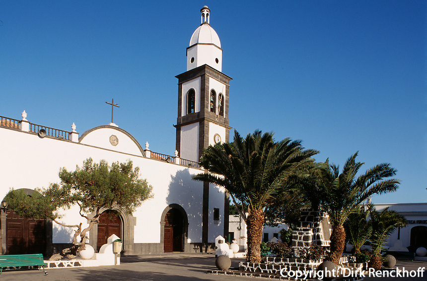 Spanien, Kanarische Inseln, Lanzarote, San Gines in Arrecife