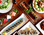 Genghix Asian Fusion Menu Shoot.  Bay Area restaurant photography by Luke George 2019.