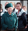 27th Oct 97  Ref : 970388     Copyright Pic : James Stewart.THE QUEEN MMETS THE WORKERS AT THE  CHUNGWA FACTORYIN HOLYTOWN........Payments to : James Stewart Photo Agency, Stewart House, Stewart Road, Falkirk. FK2 7AS      Vat Reg No. 607 6932 25.Office : 01324 630007        Mobile : 0421 416997