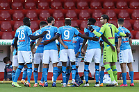 Team line-up of SSC Napoli<br /> during the Serie A football match between Benevento Calcio and SSC Napoli at stadio Ciro Vigorito in Benevento (Italy), October 25th, 2020. <br /> Photo Cesare Purini / Insidefoto