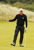 Alex NOREN (SWE) during the final of the 2016 Aberdeen Asset Management Paul Lawrie Matchplay played over the Fidra Links at Archerfield, East Lothian from 4th to 7th August 2016:  Picture Stuart Adams, www.golftourimages.com: 07/08/2016