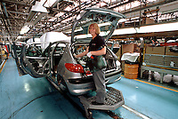 Car factories and manufacturing