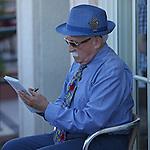HALLANDALE BEACH, FL - FEBRUARY 11:  Scenes from Gulfstream Park Turf Handicap Day at Gulfstream Park Turf Handicap G1 Stakes at Gulfstream Park on February 11, 2017 in Hallandale Beach, Florida. (Photo by Liz Lamont/Eclipse Sportswire/Getty Images)