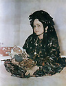 Iran 1946?<br /> Douria Aref, wife of Abdul Wahab Agha Rowanduzi with her baby Halgurt<br /> Iran 1946?<br /> Douria Aref, femme de Abdul Wahab Agha Rowanduzi avec son bébé Halgurt