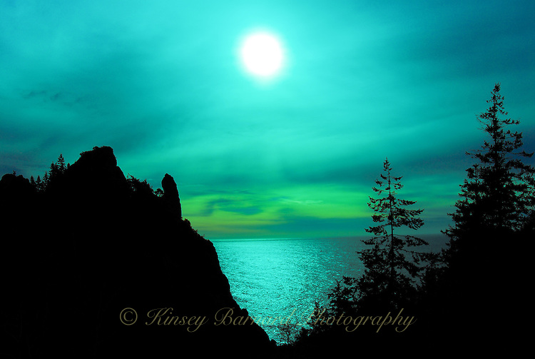 """COASTAL GLOAMING""<br />
