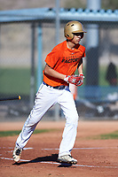Jacob Chavez (51), from Denver, Colorado, while playing for the Orioles during the Under Armour Baseball Factory Recruiting Classic at Red Mountain Baseball Complex on December 29, 2017 in Mesa, Arizona. (Zachary Lucy/Four Seam Images)