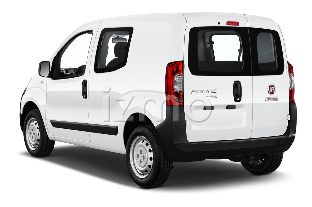 Car pictures of rear three quarter view of a 2018 Fiat Fiorino Base 5 Door MPV angular rear