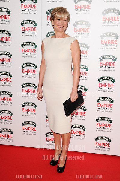 Emma Thompson <br /> arives for the Empire Magazine Film Awards 2014 at the Grosvenor House Hotel, London. 30/03/2014 Picture by: Steve Vas / Featureflash