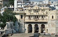 Bagore ki Haveli (Wohnhaus 18 Jh) in Udaipur , Rajasthan, Indien