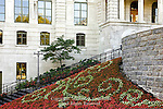 Floral Display, Post Office, Quebec City, Canada
