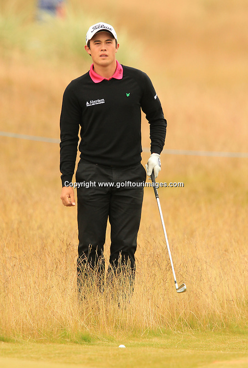 James Byrne during the second round of the 2012 Aberdeen Asset Management Scottish Open being played over the links at Castle Stuart, Inverness, Scotland from 12th to 14th July 2012:  Stuart Adams www.golftourimages.com:13th July 2012