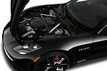 Car Stock 2019 Karma Revero - 4 Door Sedan Engine  high angle detail view