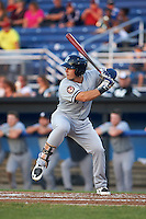 Staten Island Yankees designated hitter Nathan Mikolas (39) at bat during a game against the Batavia Muckdogs on August 26, 2016 at Dwyer Stadium in Batavia, New York.  Staten Island defeated Batavia 6-2.  (Mike Janes/Four Seam Images)