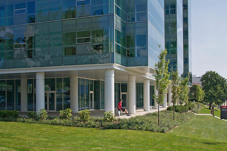 University of Cincinnati Morgen's Hall   Richard Fleischman + Partners Architects