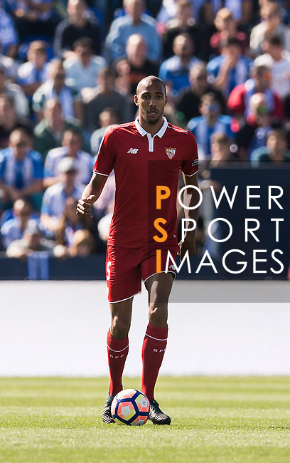 N'Zonzi of Sevilla FC in action during their La Liga match between Deportivo Leganes and Sevilla FC at the Butarque Municipal Stadium on 15 October 2016 in Madrid, Spain. Photo by Diego Gonzalez Souto / Power Sport Images