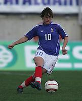 MAR 13, 2006: Faro, Portugal: Camille Abily