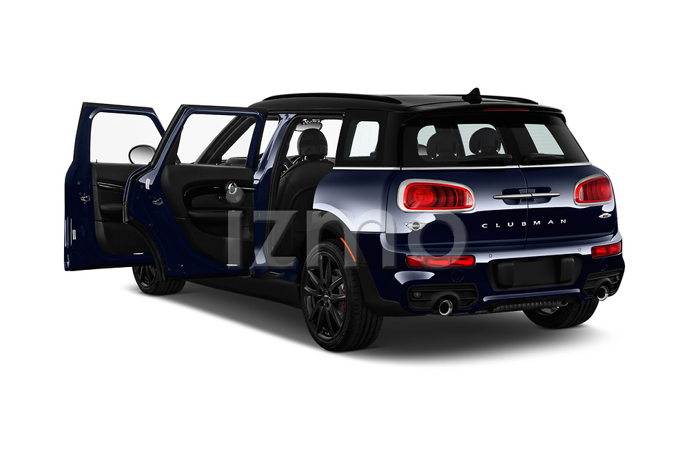 Car images close up view of a 2018 Mini Clubman John Cooper Works 5 Door Wagon doors