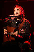 May 5 2005, Montreal (Qc) Canada <br /> Florent Vollant (ex KASHTIN) interpret songs from his new album KATAK<br /> <br />  - PHOTO D'ARCHIVE :  Agence Quebec Presse