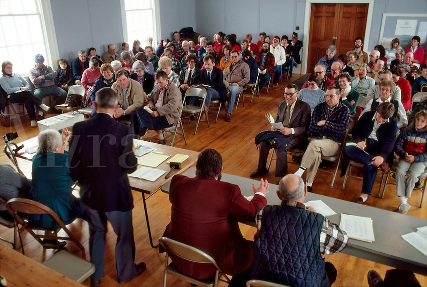 Town Meeting in Panton Vermont