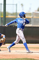 Derrick Robinson, Kansas City Royals 2010 minor league spring training..Photo by:  Bill Mitchell/Four Seam Images.