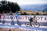 Esteban Chaves (COL/Mitchelton-Scott) in the race finale<br /> <br /> Stage 15: Tineo to Santuario del Acebo (154km)<br /> La Vuelta 2019<br /> <br /> ©kramon