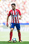 Saul Niguez Esclapez of Atletico de Madrid in action during the La Liga 2017-18 match between Atletico de Madrid and Sevilla FC at the Wanda Metropolitano on 23 September 2017 in Madrid, Spain. Photo by Diego Gonzalez / Power Sport Images