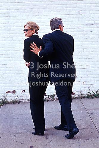 Man protecting woman<br />