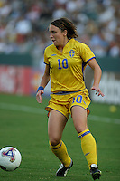 Hanna Ljungberg, Germany 2-1 over Sweden at the  WWC 2003 Championships.