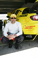 HOMESTEAD, FL - MARCH 05:   Grey's Anatomy actor Patrick Dempsey  on practice day prior to the GRAND-AM Rolex Sports Car Series.  On  March 5, 2009 at the Homestead-Miami Speedway in Homestead, Florida.<br /> <br /> People:  Patrick Dempsey