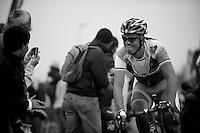 Paris-Roubaix 2012 ..Lars Boom 2nd at Carrefour de l'Arbre