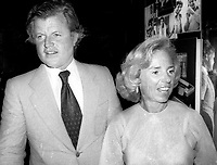 Ted & Ethel Kennedy 1988 Photo by Adam Scull-PHOTOlink.net