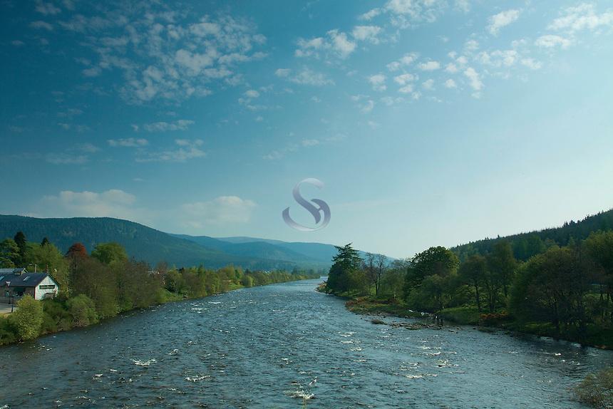 The River Dee at Ballater, Aberdeenshire
