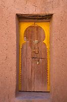 Doorway inside Ait Ben Haddou