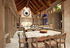 Custom Pheasant Kitchen backsplash shown in polished stone.<br /> -photo courtesy of Ladco Resort Design Group
