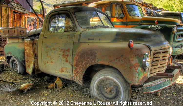 Chicken Truck - Gold King Mine - Jerome, Arizona