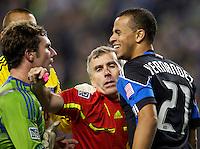 Seattle Sounders FC vs San Jose Earthquakes October 15 2011