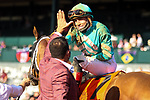November 7, 2020 : Whitmore, ridden by Irad Ortiz, Jr., wins the Sprint on Breeders' Cup Championship Saturday at Keeneland Race Course in Lexington, Kentucky on November 7, 2020. Leah Vasquez/Breeders' Cup/Eclipse Sportswire/CSM