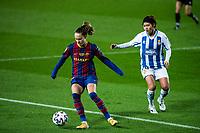 6th January 2021; Camp Nou, Barcelona, Spain. La Liga Womens league football FC Barcelona versus Rcd Espanyol; 16 Caroline Graham Hansen during the Liga Iberdrola match