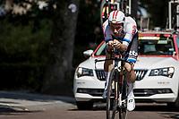 European Champion Victor Campenaerts (BEL/Lotto Soudal) <br /> <br /> Binckbank Tour 2018 (UCI World Tour)<br /> Stage 2: ITT Venray (NL) 12.7km
