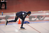 SPEEDSKATING: SALT LAKE CITY: 10-12-2017, Utah Olympic Oval, ISU World Cup, Shani Davis, 1000m, ©photo Martin de Jong