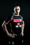 Adam Raby poses during the Hong Kong 7's Squads Portraits on 5 March 2012 at the King's Park Sport Ground in Hong Kong. Photo by Andy Jones / The Power of Sport Images for HKRFU