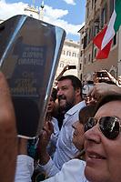 09.09.2019 - No Al Patto Della Poltrona – Far-Right Demos Outside the Italian Parliament