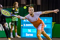 Rotterdam, The Netherlands, 11 Februari 2020, ABNAMRO World Tennis Tournament, Ahoy, <br /> Alexander Bublik (KAZ), <br /> Photo: www.tennisimages.com