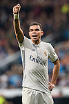 "Képler Laveran Lima Ferreira ""Pepe"" of Real Madrid reacts during the La Liga match between Real Madrid and RC Deportivo La Coruna at the Santiago Bernabeu Stadium on 10 December 2016 in Madrid, Spain. Photo by Diego Gonzalez Souto / Power Sport Images"