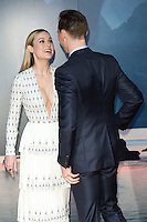 """Brie Larson and Tom Hiddlestone<br /> arrives for the """"Kong: Skull Island"""" premiere, Empire Leicester Square, London.<br /> <br /> <br /> ©Ash Knotek  D3235  28/02/2017"""