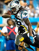 Photography coverage of the Carolina Panthers v. Pittsburgh Steelers, during their NFL preseason game Thursday night at Bank of America Stadium in Charlotte, NC.<br /> <br /> Charlotte Photographer - Patrick SchneidePhoto.com