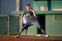 Brock Porter (11) during the WWBA World Championship at Lee County Player Development Complex on October 9, 2020 in Fort Myers, Florida.  Brock Porter, a resident of Milford, Michigan who attends Orchard Lake St. Marys Prep High School, is committed to Clemson.  (Mike Janes/Four Seam Images)