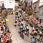The brutal final climb during Stage 11 of La Vuelta d'Espana 2021, running 133.6km from Antequera to Valdepeñas de Jaén, Spain. 25th August 2021.     <br /> Picture: Cxcling | Cyclefile<br /> <br /> All photos usage must carry mandatory copyright credit (© Cyclefile | Cxcling)