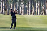 Patrick Reed of USA plays an approach shot during the 58th UBS Hong Kong Golf Open as part of the European Tour on 10 December 2016, at the Hong Kong Golf Club, Fanling, Hong Kong, China. Photo by Vivek Prakash / Power Sport Images
